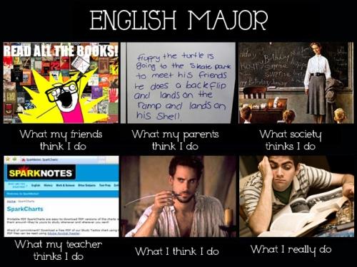 English Major Misconceptions